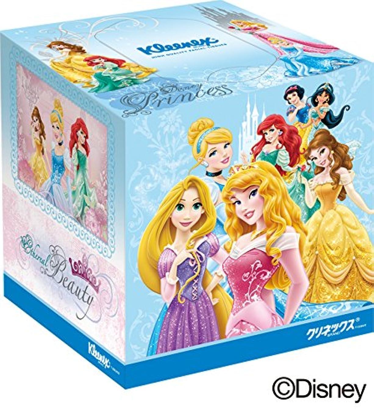 メンダシティ心からスリーブクリネックス ティシュー ディズニー プリンセス 160枚(80組)