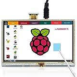 13cm Touch Screen HDMI Monitor HD 800x 480 TFT LCD Display for Raspberry Pi 2B B+ Raspberry Pi 3B