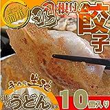 【冷凍】手作り純生餃子10個入り 【讃岐うどん製法で皮を作りました】
