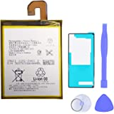 Mukuzi バッテリー docomo Xperia Z3 SO-01G SOL26 401SO に対応スマホ内蔵バッテリー LIS1558ERPC ポリマー電池
