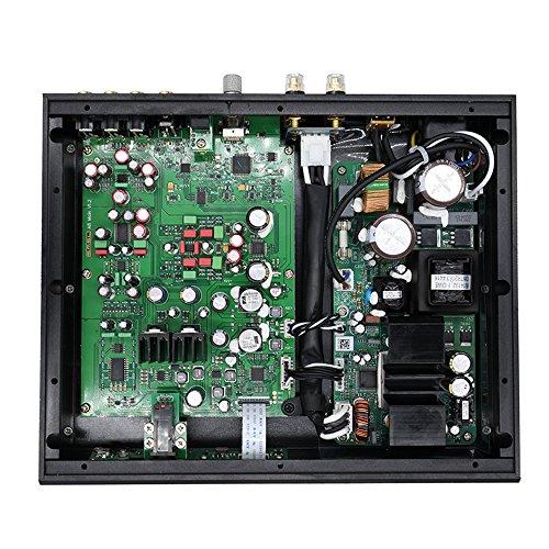 Dilvpoetry SMSL A8 HIFIデジタルパワーアンプ DAC ヘッドホンアンプ XMOS ICEpower 125Wx2 AK4490DAC PCM 768khz DSD512