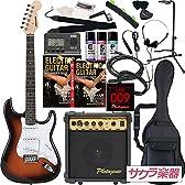 SELDER エレキギター ストラトキャスタータイプ ST-16 初心者入門20点セット /サンバースト(9707001010)