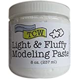 Crafter's Workshop, The Modeling Paste 8oz Light/Flu, None