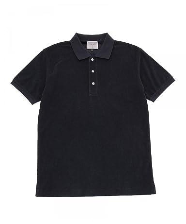 Pile Polo Shirt 1117-133-2034: Navy