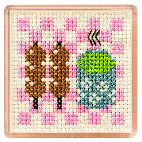 ルシアン かんたんクロスステッチ マグネット ほっこり/5008-11 刺しゅうキット 刺繍キット クロスステッチ/