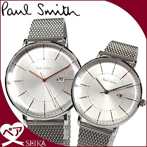 (ペア価格)ポールスミス PAUL SMITH P10086 メンズ PS0070002 レディース 時計 腕時計 ペアウォッチ ユニ ステンレス [並行輸入品]