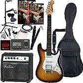 Rayfield レイフィールド エレキギター サウンドステーションオリジナル RST-320/SB 初心者入門スタンダードセット