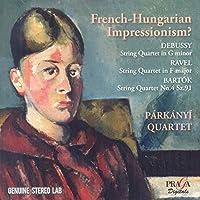 Debussy/Ravel/Bartok: String Q