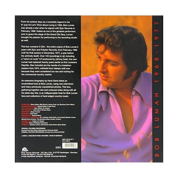 LUMAN,1968-1977 5-CD-BOX &の紹介画像2