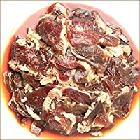 ジンギスカン 肉 味付き マトン肉 1kg (醤油味/冷凍) 業務用 羊肉 BBQ 北海道