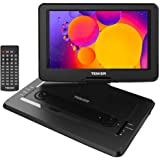 """TENKER 17.9"""" Portable DVD Player with 15.6"""" Swivel Screen, 4 Hours Rechargeable Battery with SD Card Slot and USB Port, with"""