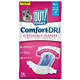 OUT! Disposable Diaper, 14 Count Medium