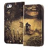 iPhone SE / 5s / 5 ディズニー映画『美女と野獣』 / 手帳型ケース / 美女と野獣18