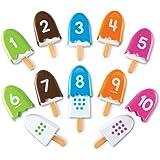 Learning Resources LER7344 Smart Snacks Number Pops Set (10 Piece),20 Pieces,Multicolor