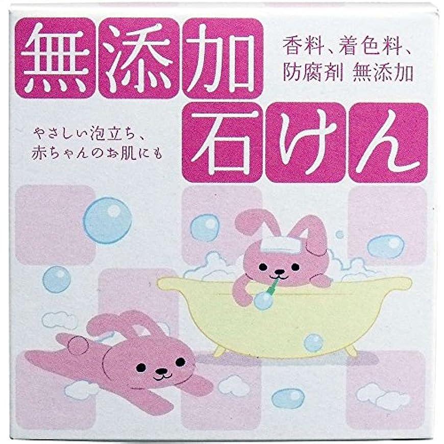安全性噛む先入観【クロバーコーポレーション】無添加石鹸 80g