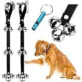 BLUETREE Dog Doorbells Premium Quality Training Potty Great Dog Bells Adjustable Door Bell Dog Bells for Potty Training Your