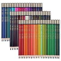 SUDEE STILE 色鉛筆 24~120色セット 塗り絵 スケッチ用 アート鉛筆 プレゼント用 筒入り (72色セット(カラフル外装))