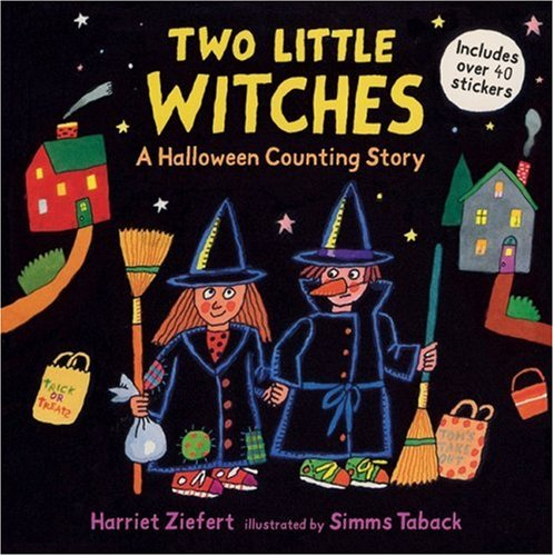 Two Little Witches: A Halloween Counting Story Sticker Bookの詳細を見る