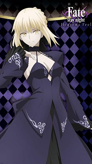 Fate  iPhone/Androidスマホ壁紙(540×960)-1 - Fate/stay night[Heaven's Feel]『セイバーオルタ』