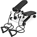 Outtive Mini Stepper,Fitness Stair Stepper - Portable Twist Stair Stepper Adjustable Resistance,Fitness Exercise Machine with
