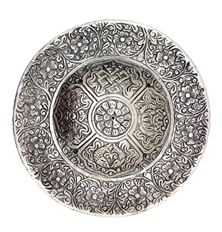 詳細な過去居眠りするチベット香炉Govinda – Large – 6