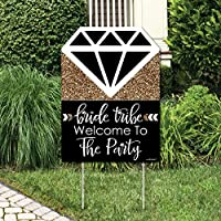 Bride Tribe - Bridal Shower Party Decorations - Bachelorette Welcome Yard Sign