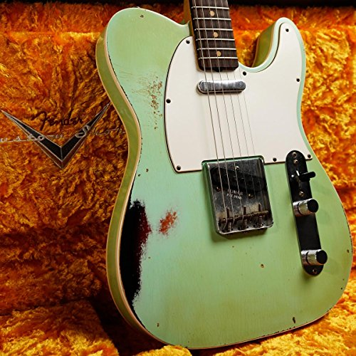 Fender Custom Shop/Master Built Series 1962 Telecaster Custom Relic Surf Green Over 3-Color Sunburst by Paul Waller フェンダーカスタムショップ
