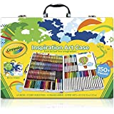 Crayola Inspiration Art Case: 140 Pieces, Art Set, Art Tools, Gift for Kids and Adults, Crayons, Pencils, Markers