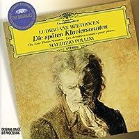 Beethoven- Die Spテ、ten Klaviersonaten (Late Piano Sonatas): Opp. 101, 106, 109, 110, 111 by Ludwig van Beethoven (1997-08-12)