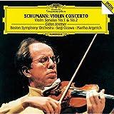 シューマン:ヴァイオリン協奏曲、ヴァイオリン・ソナタ第1番&第2番