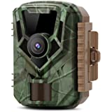 K&F Concept トレイルカメラ 16MP 1080P 防水防塵 IP56 動体検知 120°撮影範囲 人感センサー 不可視光赤外線 防犯監視暗視カメラ 電池式 玄関/庭/駐車場/野外監視/野外防獣/野外動物撮影/植物監視など(PSE認証済 日