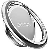 [Amazonブランド] Eono(イオーノ) - スマホリング 360度回転式 : 携帯電話 リングホルダー, 薄型 アイホン 指リング, 角度調整可能, ケイタイ スマフォスタンド機能, 車載マグネット式磁石ホルダー対応, iPhone 12 1