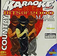 Karaoke: Country Timeline Male Hits of 2000 - 1
