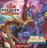 Vexos vs. Resistance: Ready to Brawl Guidebook (Bakugan Battle Brawlers)