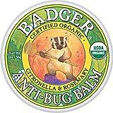 Badger バジャー オーガニック虫よけクリーム【大サイズ】 56g【海外直送品】【並行輸入品】