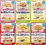 【Amazon.co.jp限定】キユーピーベビーフード レトルトパウチハッピーレシピ バラエティセット(6種×2袋) 12ヵ月頃から
