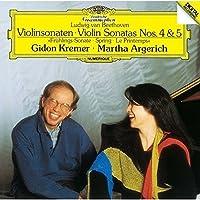 ベートーヴェン:ヴァイオリン・ソナタ第4番&第5番「春」