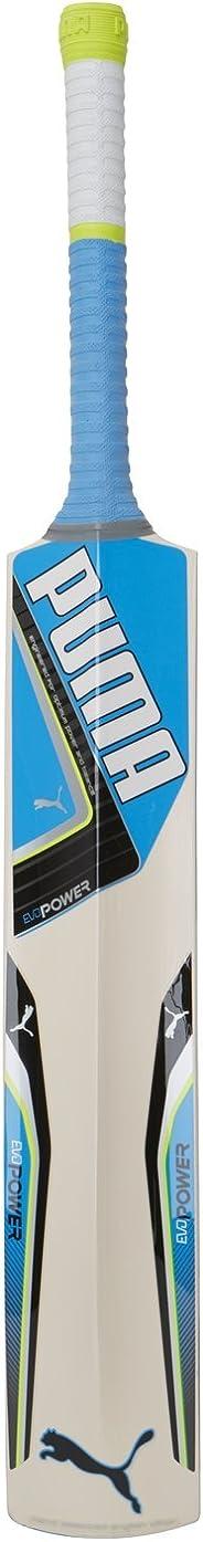 Puma, Cricket, Evopower 4.5 English Willow Cricket Bat, Senior, Blue, Size 6