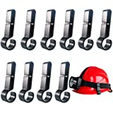 Helmet Clips for Headlamp,Headlamp Hook,hard hat Light Clip,Helmet Clip,Hard Hat Accessory Easily Mount Headlamp on Narrow-Ed