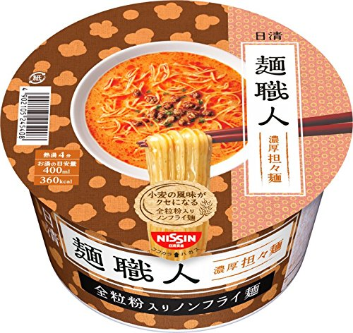 6位 日清食品『麺職人 担々麺』