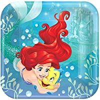 Little Mermaid Arial Princess Plates Lunch Party Decoration x24 Favours