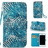 iPhone 6財布型ケース、iPhone 6sケース、FirefishプレミアムPUレザー[ 3dペイント] [カードスロット]財布ケース[キックスタンド機能]ゴム保護シェル傷防止カバーApple iPhone 6Plus / - Best Reviews Guide