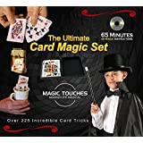 MAGIC CARD TRICKS SET - The Ultimate Card Magic Tricks Set for Kids and Grown-ups Alike - Over 300 Incredible Card