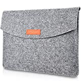 ProCase 13-13.5インチ ラップトップスリーブ スリーブバッグ インナーケース MacBook Pro 13 / 13インチ MacBook Pro Retina/MacBook Air, 13.5インチ Surface Book / 13.5インチ Surface Laptop / 12.9 インチ iPad Pro対応 -グレー