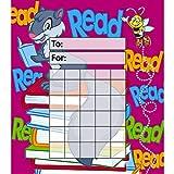 Trend Enterprises トレンド Incentive Pads: Let's Read 【ごほうびカード】読めたね!  ご褒美シール台紙 (36枚入り) T-73004