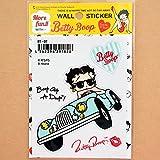 ステッカー/シール ベティブープ Betty Boop(オープンカー) BT-07