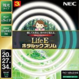 NEC LifeEホタルックスリム 昼白色 スリム20形+27形+34形パック FHC114EN-LE-SHG
