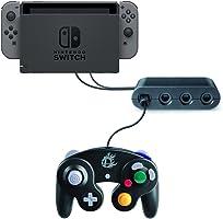 任天堂 Wii U & Nintendo Switch用ゲームキューブコントローラGAME CUBE接続タップ