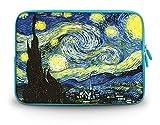 "CorlfulCase & # 174; 2014新しい11.6インチ12.1"" 12.2""インチノートブックキャリーバッグラップトップスリーブケースfor Samsung Chromebook / Samsung Galaxy Tab Pro 12.2/ Dell Latitude e6230xt2XPS Duo / ASUS b23/ HP 4230s 2560p / Toshiba Satellite u920t /インテルLetexo–The Starry Night sc12–61004"