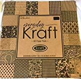 12 x 12 Everyday Kraft Paper Pack by CraftyCrocodile